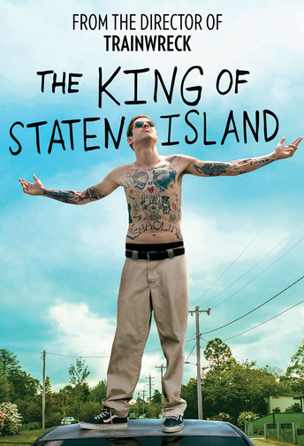 The official movie poster for The King of Staten Island.
