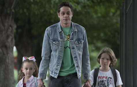 This screen-grab from the movie depicts a major moment of self-actualization for the character, Scott (Pete Davidson).