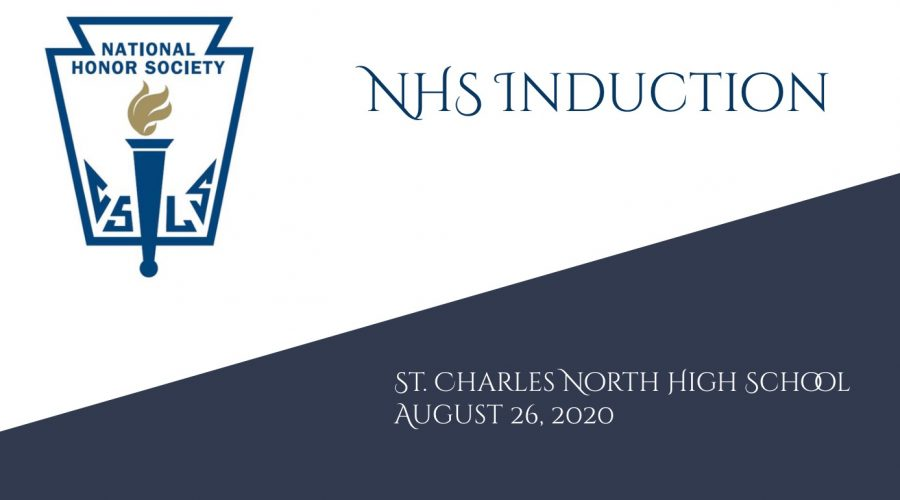 The National Honor Society was a power point, so the photo above was the opening slide. Along with that, there were videos of people talking and welcoming the new members.
