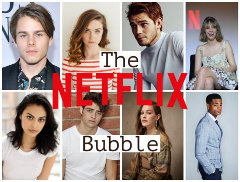"Actors all in the ""Netflix Bubble"" who have been in multiple Netflix projects. Photos courtesy of IMDB."
