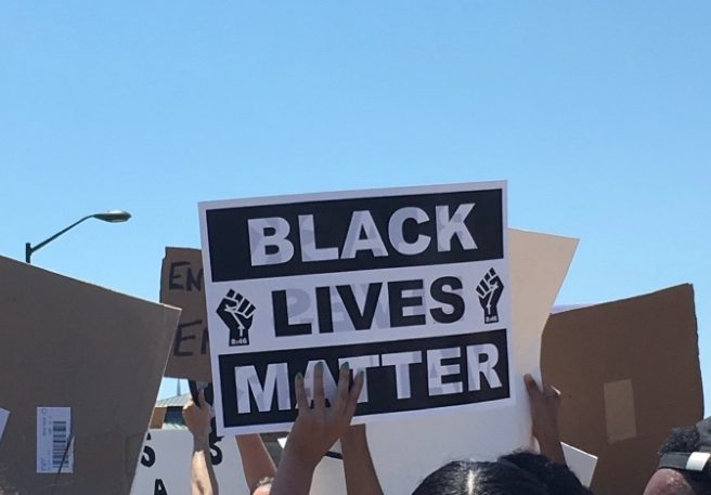 In St. Charles, a Black Lives Matter protest was held on June 6, 2020.