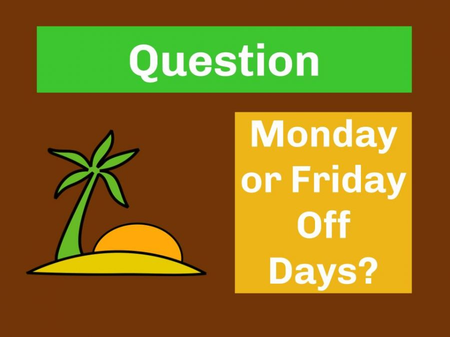 Question: Do North Stars Prefer Having a Monday or Friday Off?