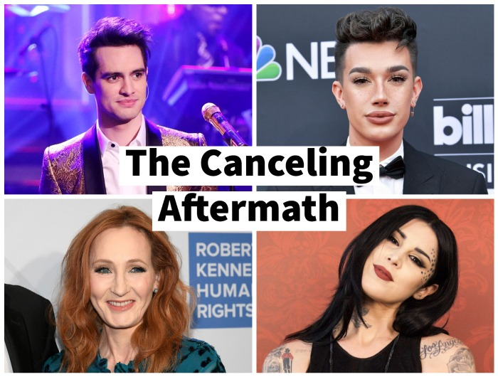 Some of the celebrities who have gotten canceled recently