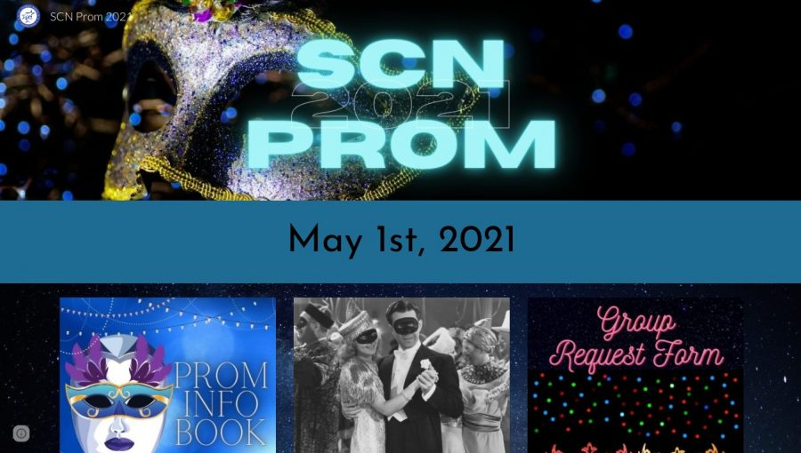 North put together a Google  site with information about Prom.