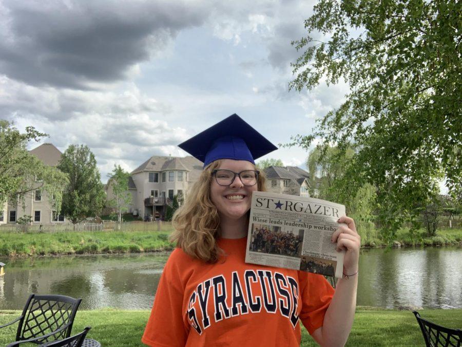 Caroline Look will be attending Syracuse University next school year.