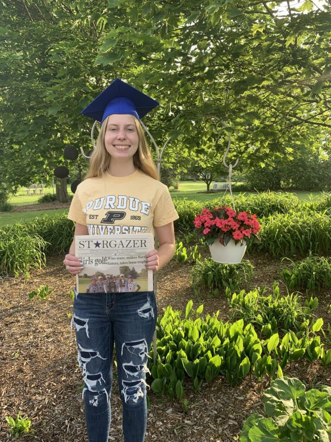 Madeline Tiedt will be attending Purdue University next school year.