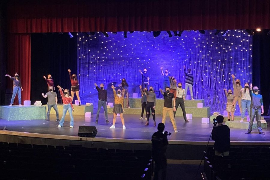"""""""I love doing this. I love the process. I love seeing my friends every day at rehearsals. I'm just so glad that I got to do it again with all of my friends. And even though it wasn't like normal, I still love the show,"""" said Daniela Mejia, a senior who played Amy."""
