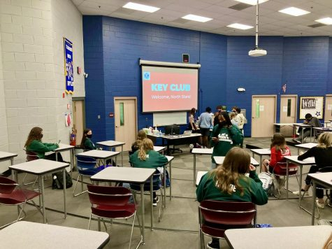 Key Club meets in-person again after virtual meetings last year