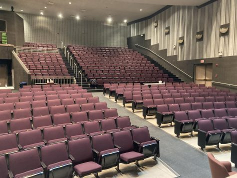 The auditorium used to be an option for students to go during tutorial hour for a quiet study hall.