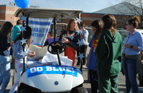 Gallery: Homecoming Golf Cart Decorating