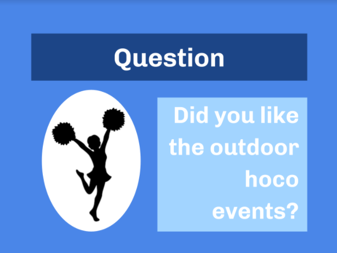 Question: Did You Like Having Homecoming Events Outside?